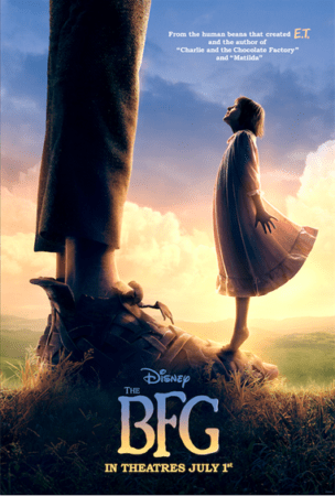SPIELBERG'S THE BFG GETS A POSTER FROM DISNEY!