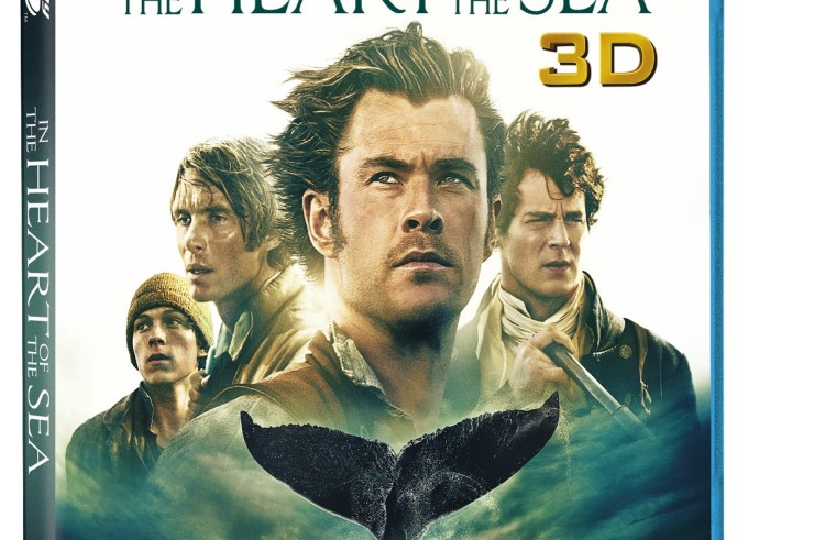 Own In the Heart of the Sea on Blu-ray 3D Combo Pack, Blu-ray, or DVD on March 8 or Own It Early on Digital HD on February 23!