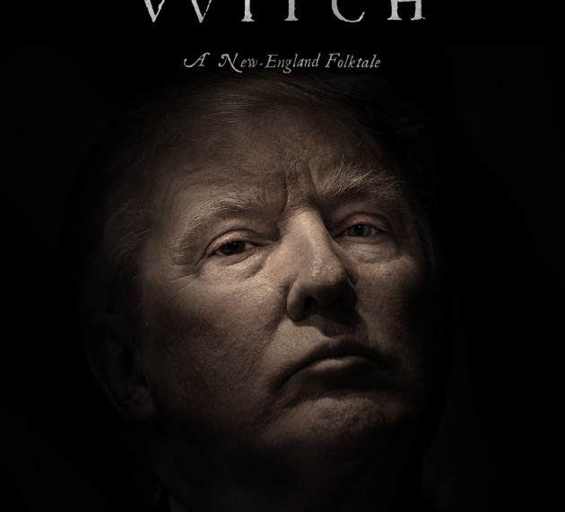 """""""THE WITCH"""" GOES PEEK A BOO"""