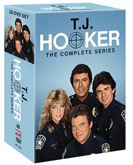 T.J. HOOKER: THE COMPLETE SERIES comes to DVD on July 18th 1