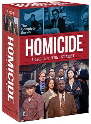 HOMICIDE: LIFE ON THE STREET THE COMPLETE SERIES 35-DVD box set hits shelves on July 4. 1