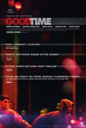 Robert Pattinson and the Safdie Brothers are having a Good Time with this new poster & trailer. 1