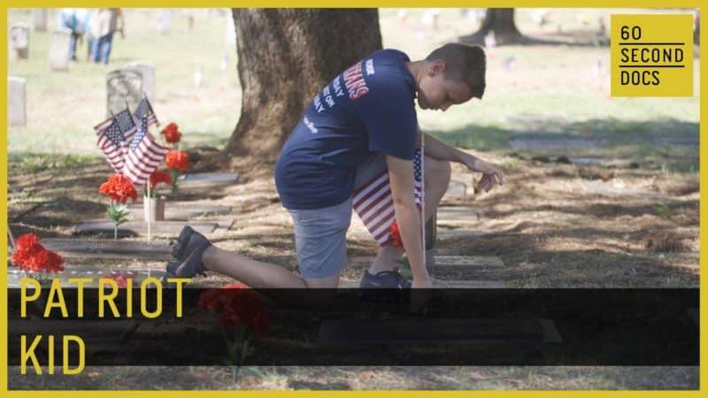 Inspiring 12 Year-Old Honors 30,000 Veterans 1
