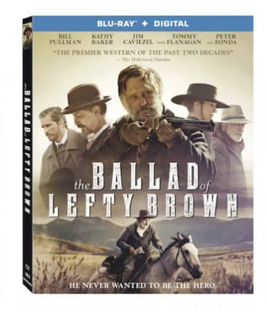 THE BALLAD OF LEFTY BROWN arrives on Blu-ray and DVD February 13 1