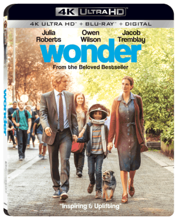 WONDER Arrives on Digital January 30 and 4K Ultra HD Combo Pack, Blu-ray Combo Pack, DVD, and On Demand February 13 1