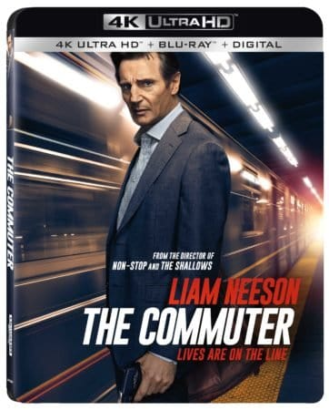 The Commuter Travels to Digital HD 4/3 and 4K, Blu-ray & DVD 4/17 1