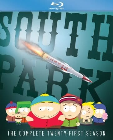SOUTH PARK: THE COMPLETE TWENTY-FIRST SEASON arrives on Blu-ray/DVD June 5th 1
