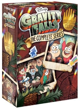 """""""Gravity Falls: The Complete Series"""" Acclaimed Show Available for the First Time as a Complete Series Box Set July 24th, 2018 from Shout! Factory 1"""