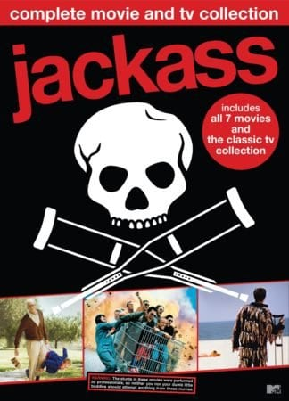 JACKASS COMPLETE MOVIE AND TV COLLECTION available on DVD May 29th 1