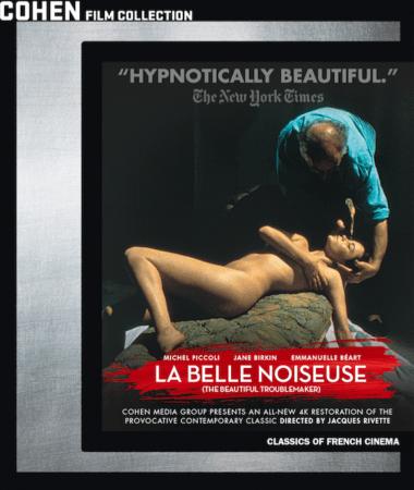 JACQUES RIVETTE'S LA BELLE NOISEUSE Comes to Blu-ray on 5/8 1