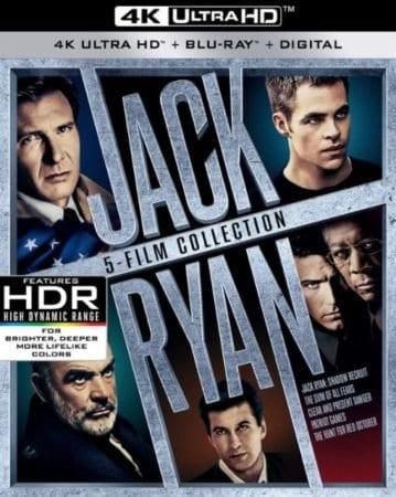 JACK RYAN: 5-FILM COLLECTION (4K UHD) 1