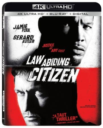 Law Abiding Citizen arrives on 4K Ultra HD™ Combo Pack (plus Blu-ray™ and Digital) November 6 1