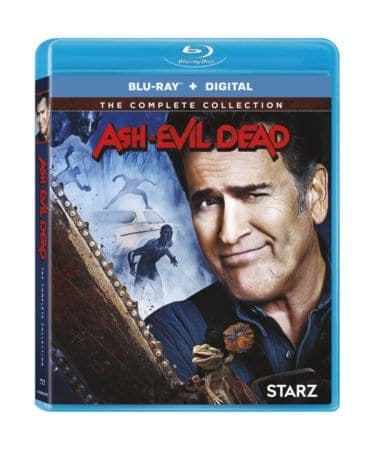 ASH VS EVIL DEAD THE COMPLETE COLLECTION on Blu-ray & DVD 10/16 1