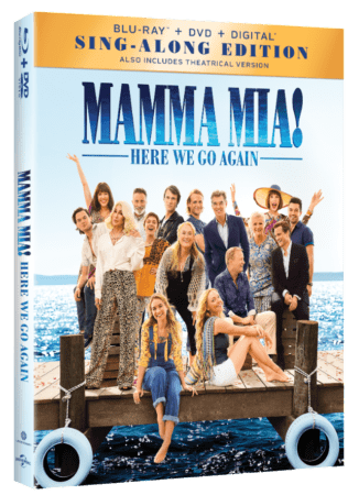 MAMMA MIA! HERE WE GO AGAIN Available on Digital 10/9 and 4K Ultra HD, Blu-ray & DVD 10/23 1