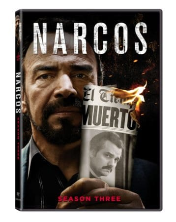 Narcos: Season 3 arrives on DVD 11/13 1