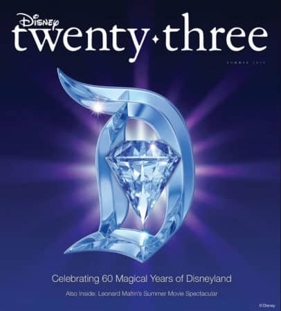 DISNEY TWENTY-THREE CELEBRATES 60 MAGICAL YEARS OF DISNEYLAND 5