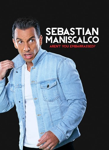 sebastian maniscalo arent you embarassed dvd box art from shout factory