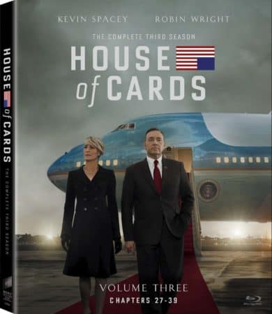 House of Cards: The Complete Third Season arrives on Blu-ray & DVD 7/7 13