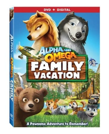 ALPHA AND OMEGA: FAMILY VACATION 4