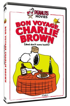 BON VOYAGE, CHARLIE BROWN (AND DON'T COME BACK!!) debuts on DVD October 16th 5