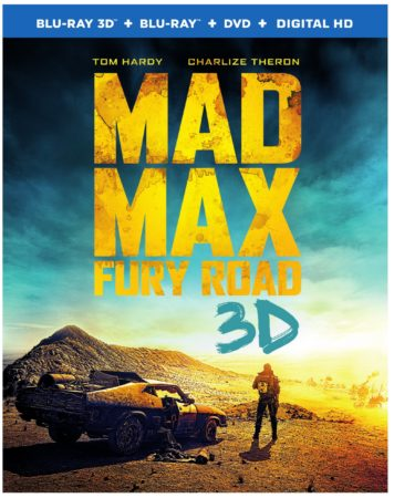 Mad Max: Fury Road Arrives Onto Blu-ray 3D Combo Pack, Blu-ray Combo Pack, and DVD on September 1 or Own It Early on Digital HD on August 11 11