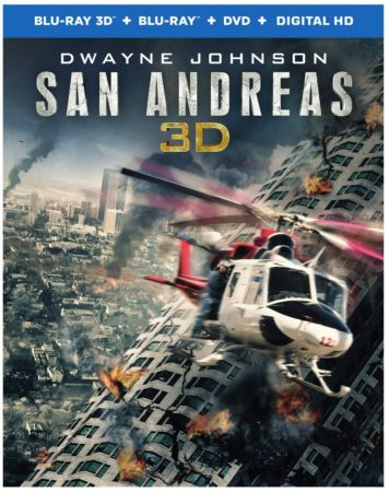 Own San Andreas on Digital HD on September 22 or on Blu-ray 3D Combo Pack, Blu-ray Combo Pack, or DVD on October 13 3
