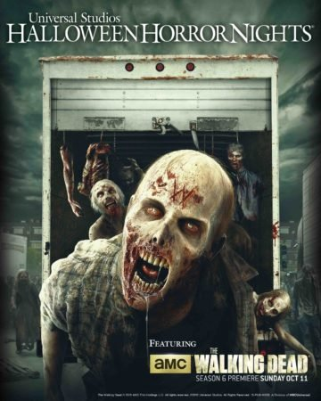 """The Walking Dead"" Returns to Halloween Horror Nights at Universal Studios 9"