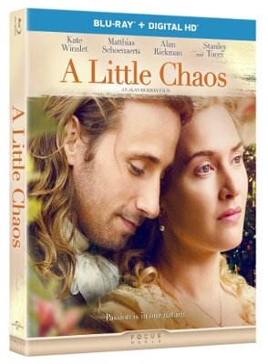 A LITTLE CHAOS Starring Kate Winslet and Alan Rickman on Blu-Ray and DVD August 4 3