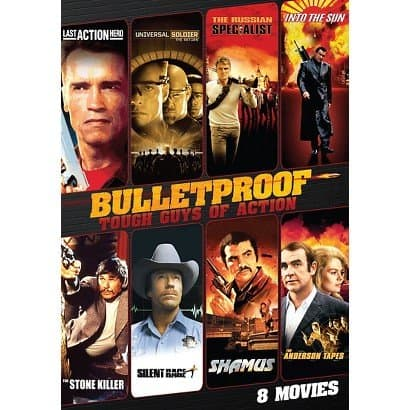 BULLETPROOF TOUGH GUYS OF ACTION: 8 MOVIES 1