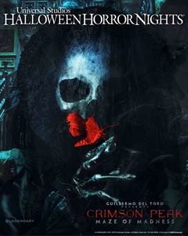 'Crimson Peak' Maze Coming to Universal Halloween Horror Nights 5