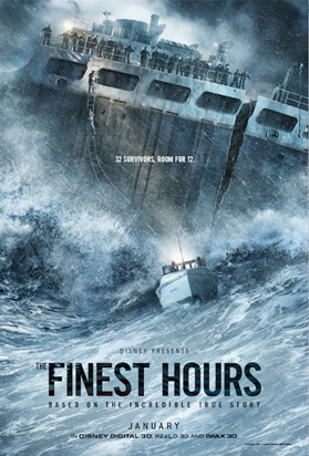 "WATCH THE NEW TRAILER FOR THE HEROIC ACTION-THRILLER ""THE FINEST HOURS"" 1"