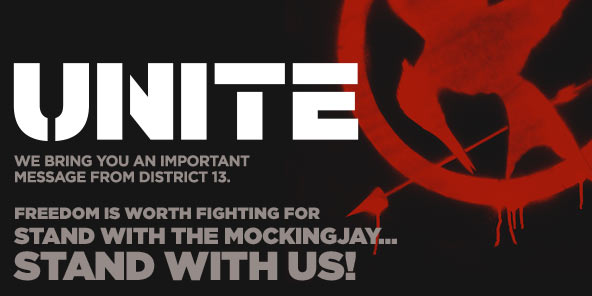 HONOR THE LEGACY OF THE PILLARS OF PANEM and UNITE! 3