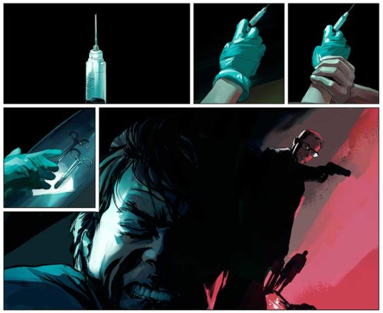 Mission: Impossible- Rogue Nation comic TORN ASUNDER 3