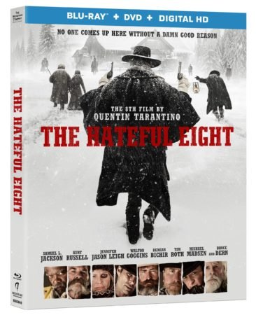 THE HATEFUL EIGHT arriving on Blu-Ray on March 29th, 2016. 5