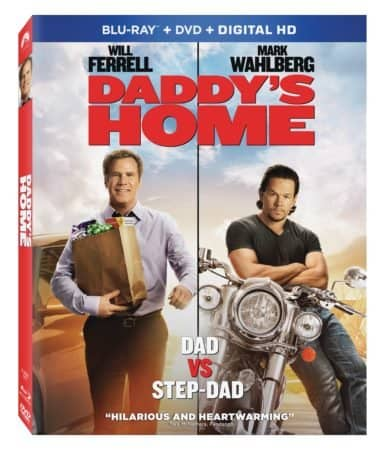 DADDY'S HOME debuts on Blu-ray Combo Pack March 22nd and on Digital HD March 8th 3