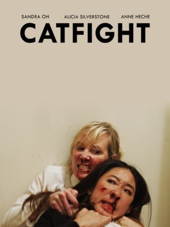 Sandra Oh looks like she is in trouble with the new teaser poster for Catfight. 4