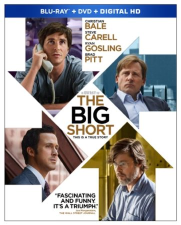 THE BIG SHORT debuts on Blu-ray Combo Pack March 15th 12