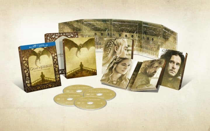Winner of 12 Emmy Awards, Game of Thrones: The Complete Fifth Season Arrives On Blu-ray & DVD March 15 4