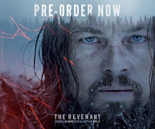 Winner of Three Academy Awards, THE REVENANT arrives on Digital HD March 22 and on 4K Ultra HD™, Blu-ray™ & DVD April 19 5