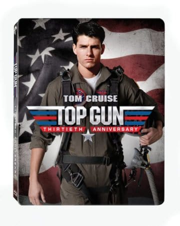 TOP GUN celebrates 30 years with Limited Edition Blu-ray Combo Steelbook available May 3rd 5