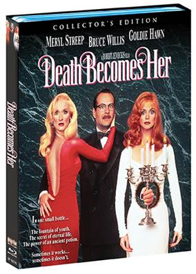 DEATH BECOMES HER Collector's Edition BD will finally hit home ent. shelves on April 26 3