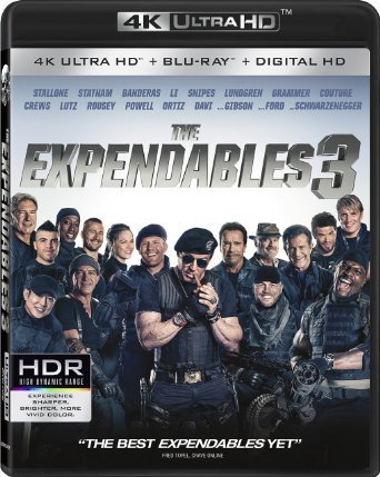 EXPENDABLES 3, THE: 4K ULTRA HD 1