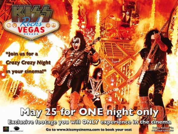 You Wanted The Best - 'KISS Rocks Vegas' Arrives In Theaters May 25 - One Night Only 9