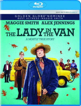 The Lady in the Van arrives on Blu-ray, DVD and Digital HD April 19th 8