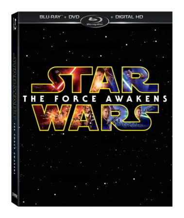 Star Wars: The Force Awakens on Digital HD 4/1 & Blu-ray Combo Pack and DVD 4/5 1