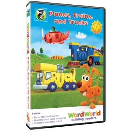 WORDWORLD: PLANES, TRAINS AND TRUCKS 3