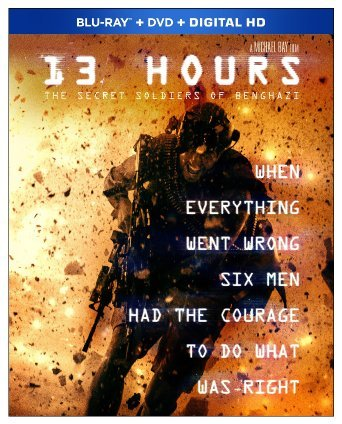 13 HOURS: THE SECRET SOLDIERS OF BENGHAZI arrives on Blu-ray Combo Pack June 7th and Digital HD May 24th 4