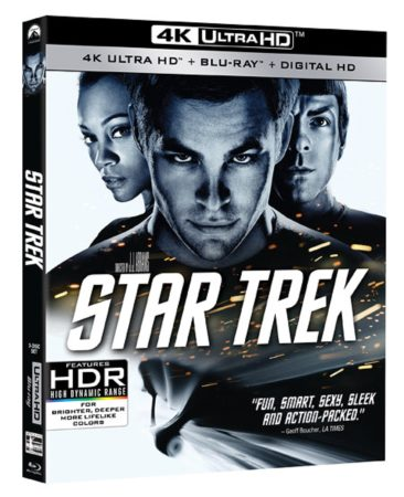 STAR TREK and STAR TREK INTO DARKNESS debut on 4K Ultra HD Blu-ray June 14th 1