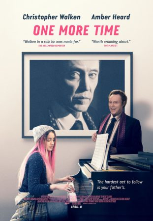 ONE MORE TIME starring Christopher Walken and Amber Heard available on DVD on June 7 3