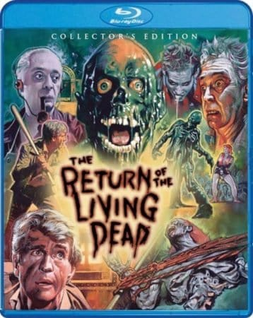 THE RETURN OF THE LIVING DEAD 2-Disc Collector's Edition BD set - lands on home ent. shelves July 19 1